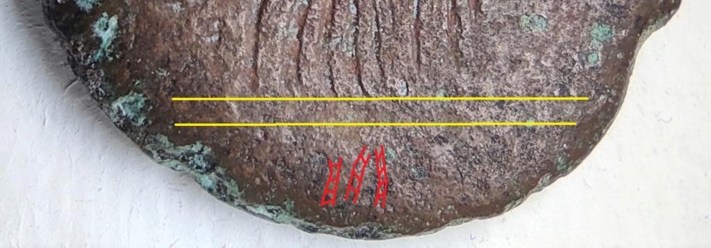 Probablement monnaie provinciale de Trajan, Alexandrie, an 14 du règne, au quadrige d'éléphants Revers21