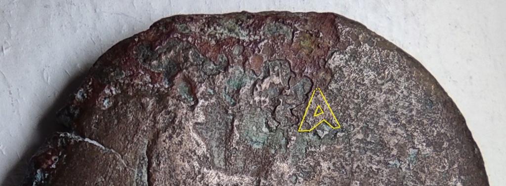 Probablement monnaie provinciale de Trajan, Alexandrie, an 14 du règne, au quadrige d'éléphants Revers23