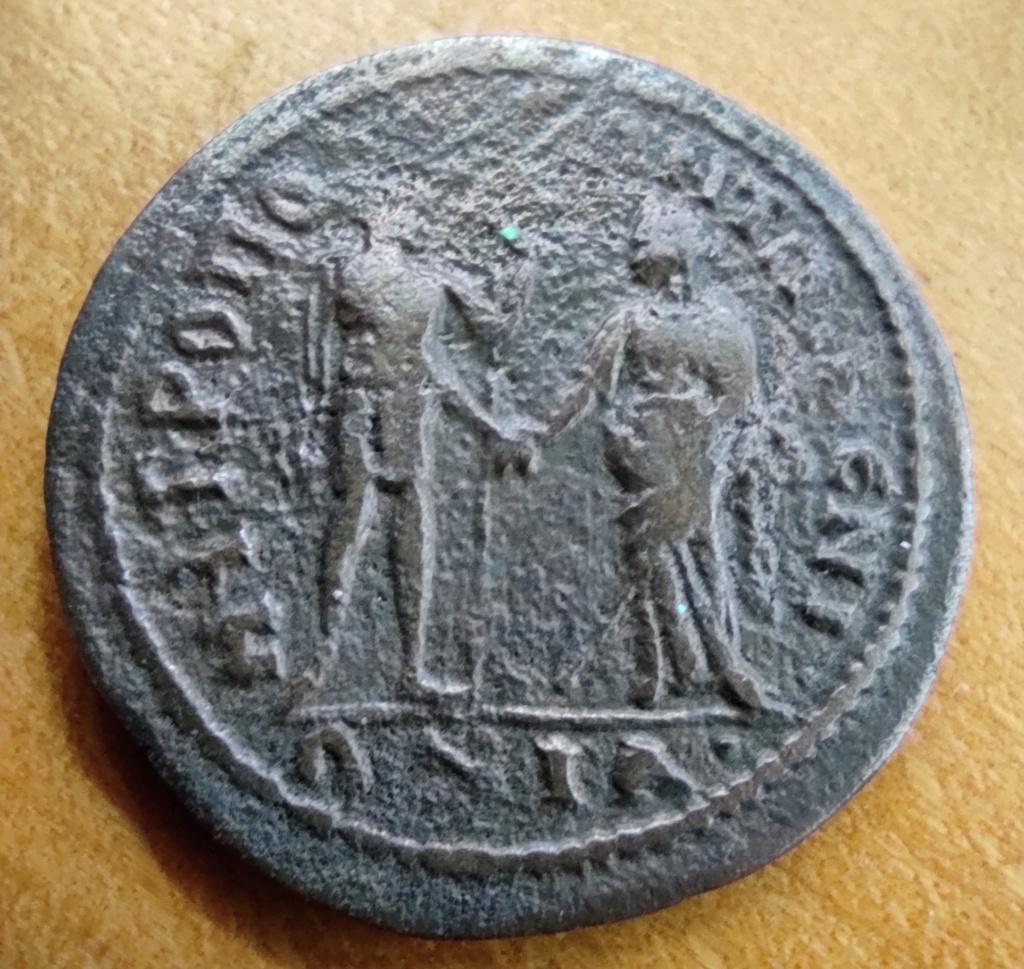 Monnaie de Salonine, revers à préciser... Revers36