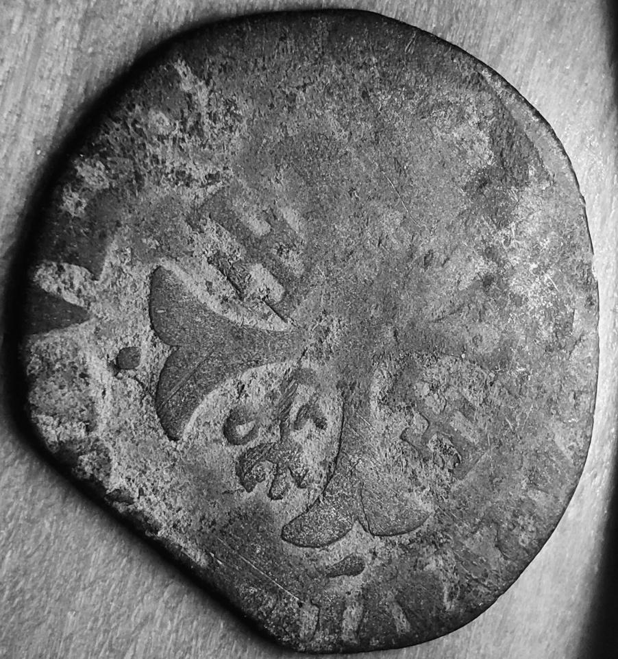 Comtat-Venaissin Clément VIII Douzain d'Octavio Aquaviva Légat en Avignon en 1594 Revers40