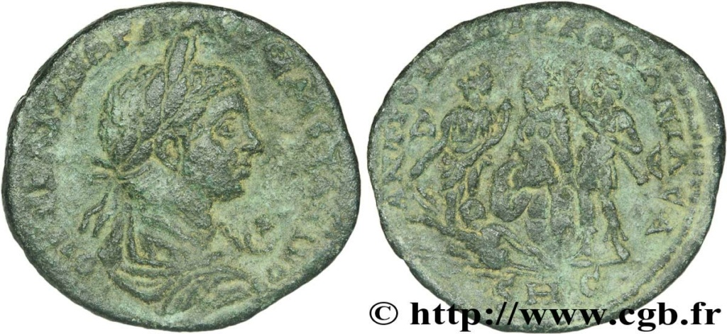 Bronze colonial d'Antioche pour Alexandre Sévère ... V28_0210