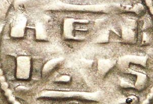 Denier champenois de l'archevéché de Reims pour Henri II (1227-1240) ... V39_0612