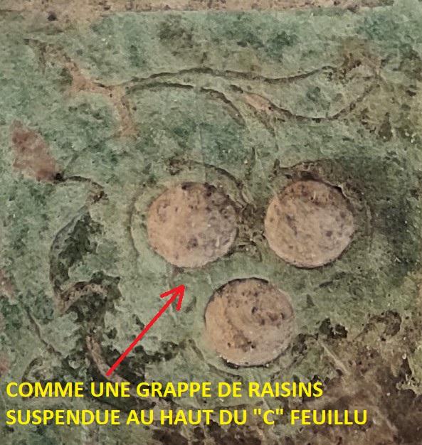 """Probablement petite broche ancienne, type """"héraldique"""", fin XVIIe - début XVIIIe Vue_fa13"""