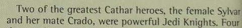 Sylvar respect thread Cathar10