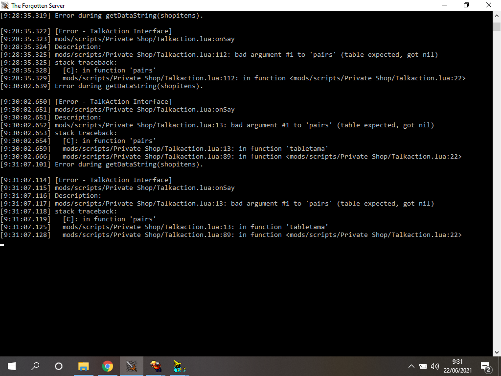 [Sistema] Private Shop System( Tu player Npc y Vende Item) (OTX Y TFS 0.3.7) Error_10