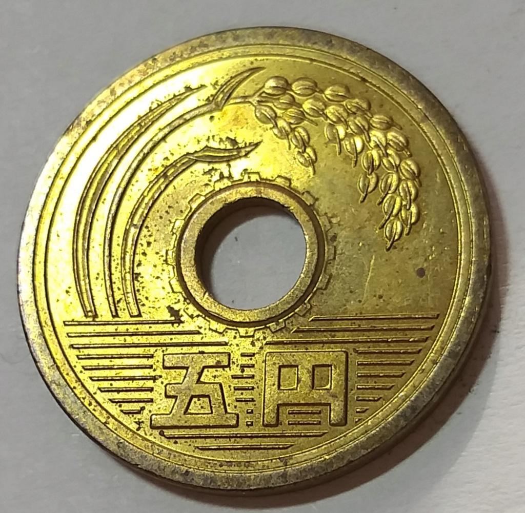 5 Yen de 1987. Japón. 20201115