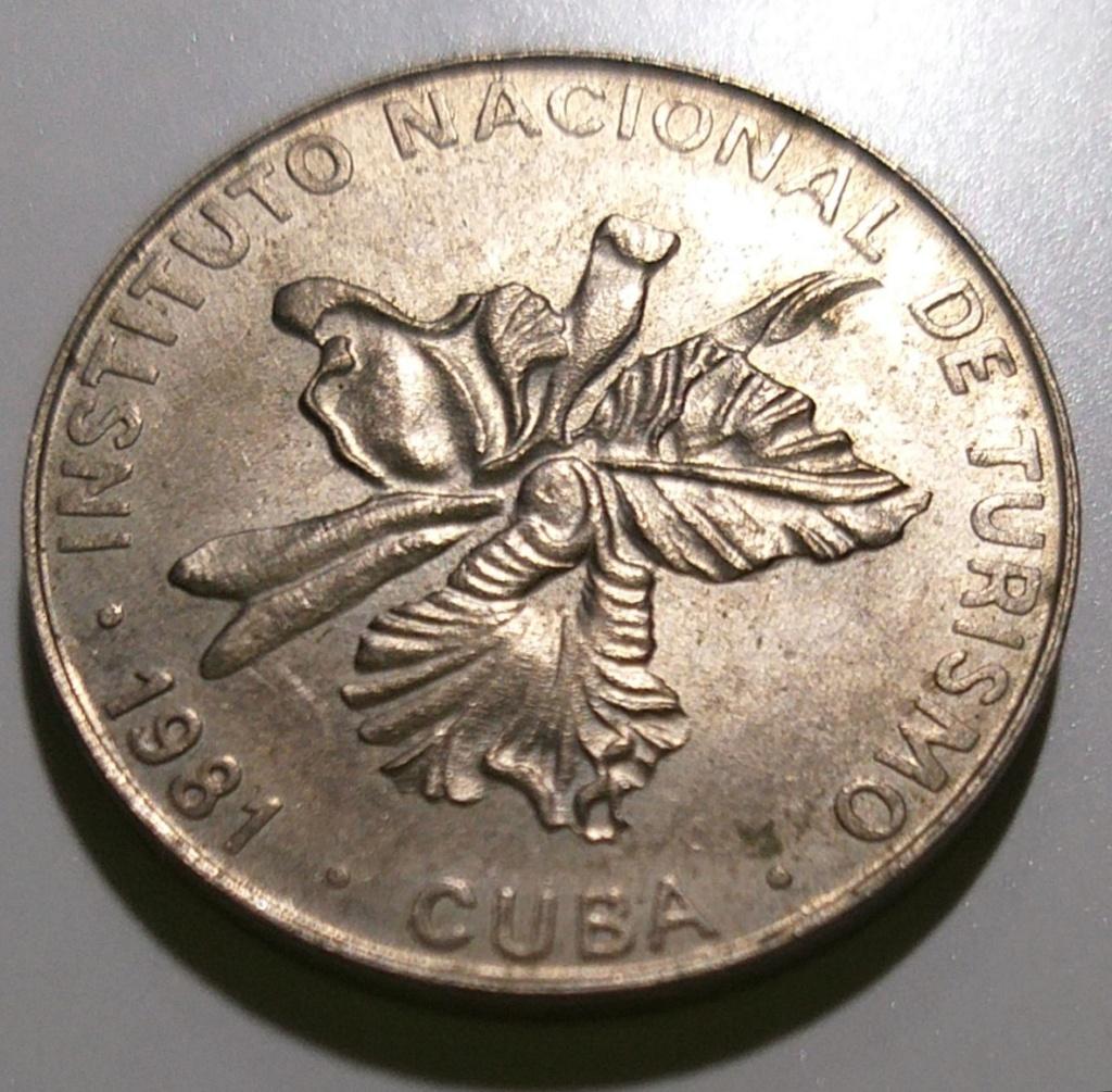 25 centavos CUBA - 1981 (INTUR) 20201120