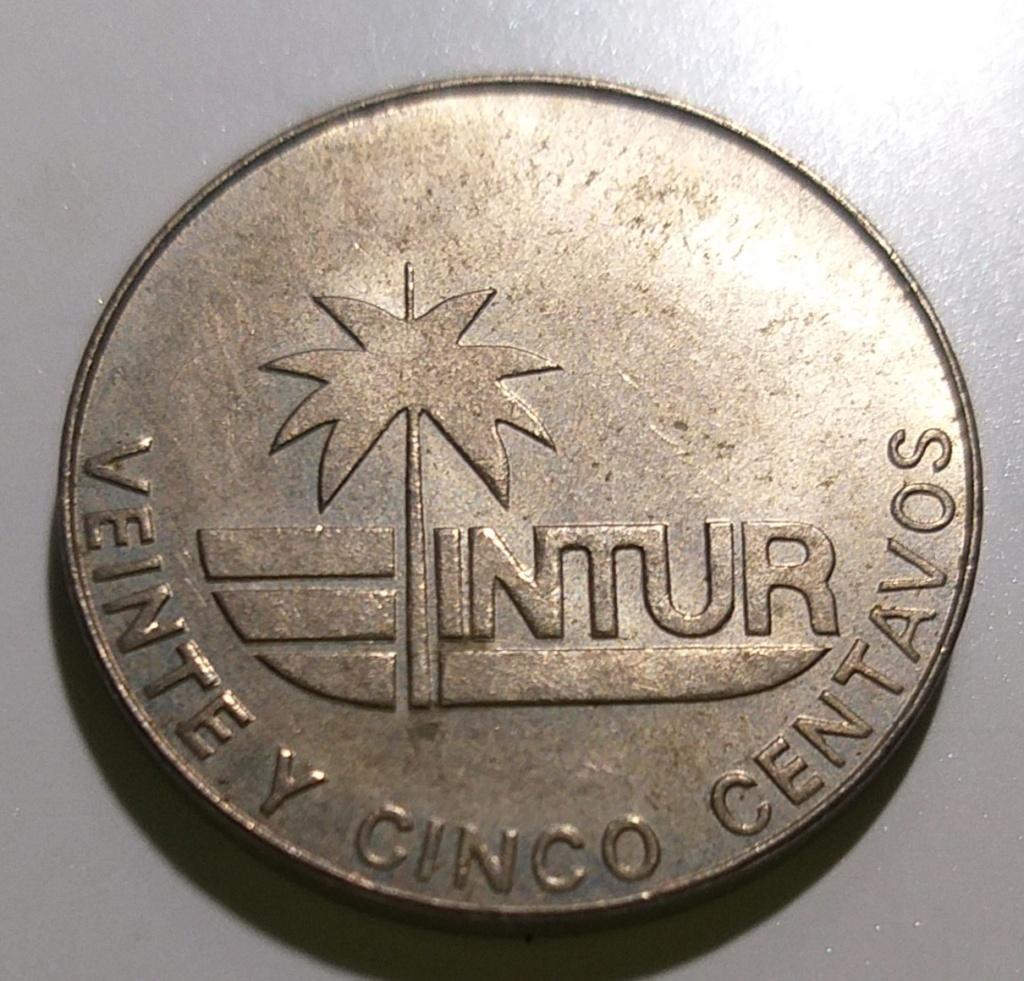25 centavos CUBA - 1981 (INTUR) 20201121