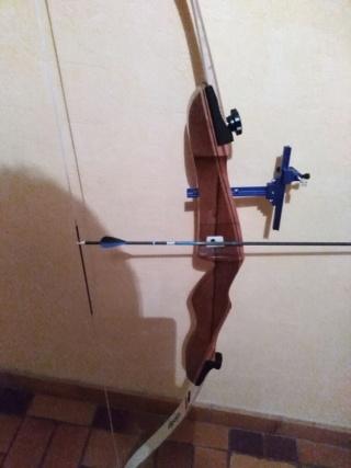 Reglage arc classique : alignement de la flèche Photo_15