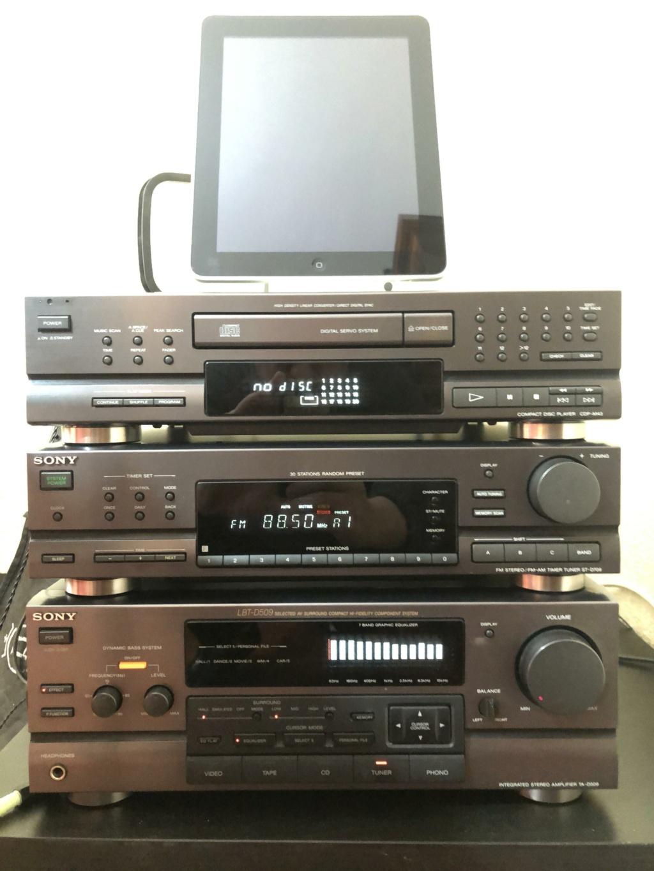 Equipo HiFi SONY años 90 LBT Img_2110