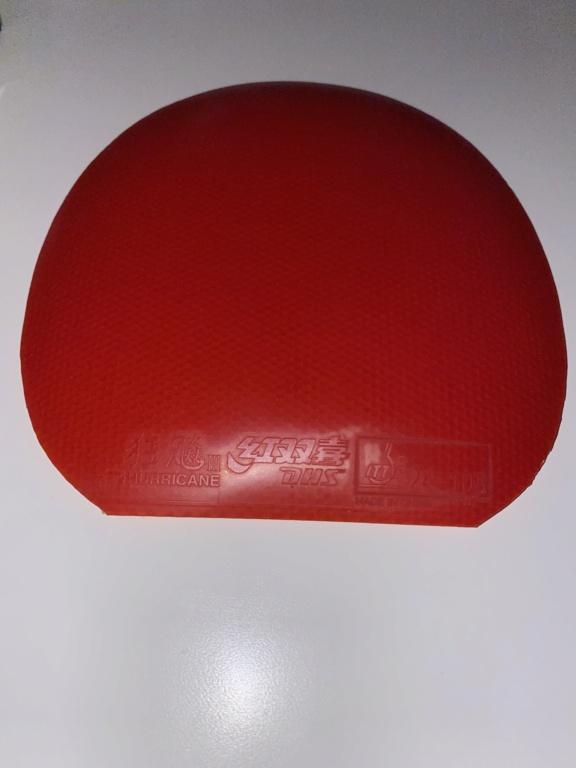 Vends DHS HURRICANE 3 neo National Orange sponge 2,1mm 37  31efdf10