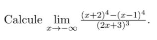 Questão de de Calculo (Limites) 213