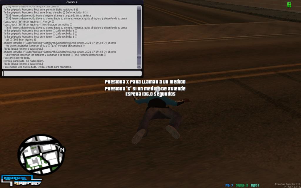 Reporte DM. (Matar sin motivo IC)    Reportado: Francesco Totti    Mta-sc11
