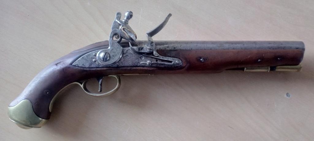 M1799 Light dragoons pistol 1799-210