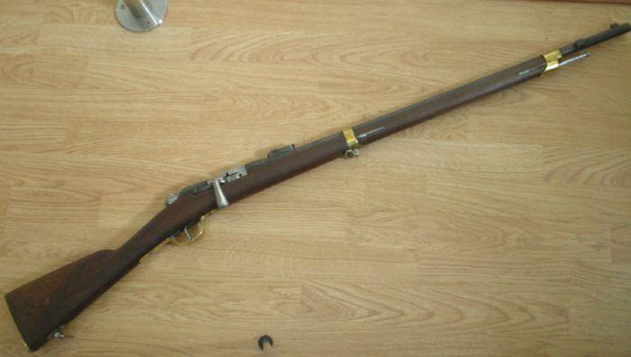 Omission  sur les marquages des  carabine Gras de gendarmerie à pied ! 1881-110