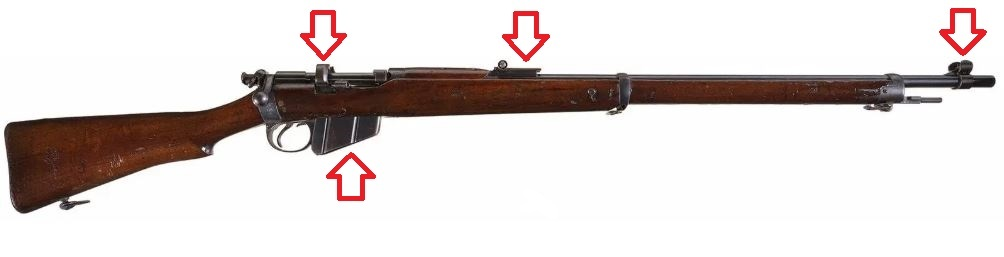Le fusil lee-Metford Mark II Clle11