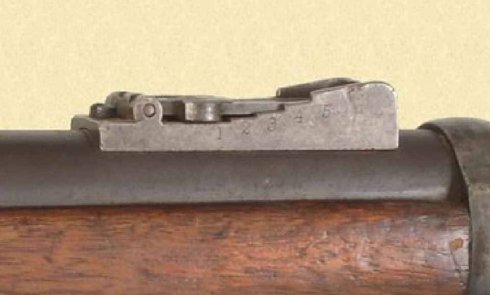 US Cavalry M1873 Trapdoor carbine Hausse10