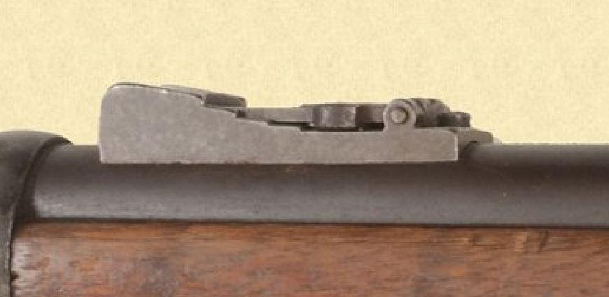 US Cavalry M1873 Trapdoor carbine Hausse11