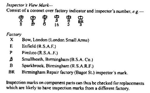 Le fusil lee-Metford Mark II Inspec10