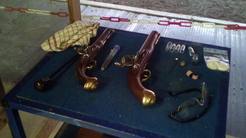 [SILEX] Essai de tir au pistolet Light Dragoons M1799 Ld10