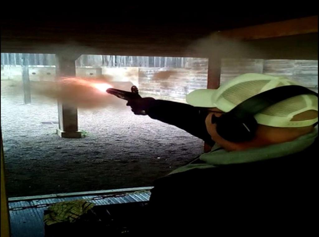 [SILEX] Essai de tir au pistolet Light Dragoons M1799 Ld411