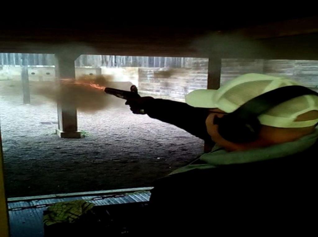 [SILEX] Essai de tir au pistolet Light Dragoons M1799 Ld511