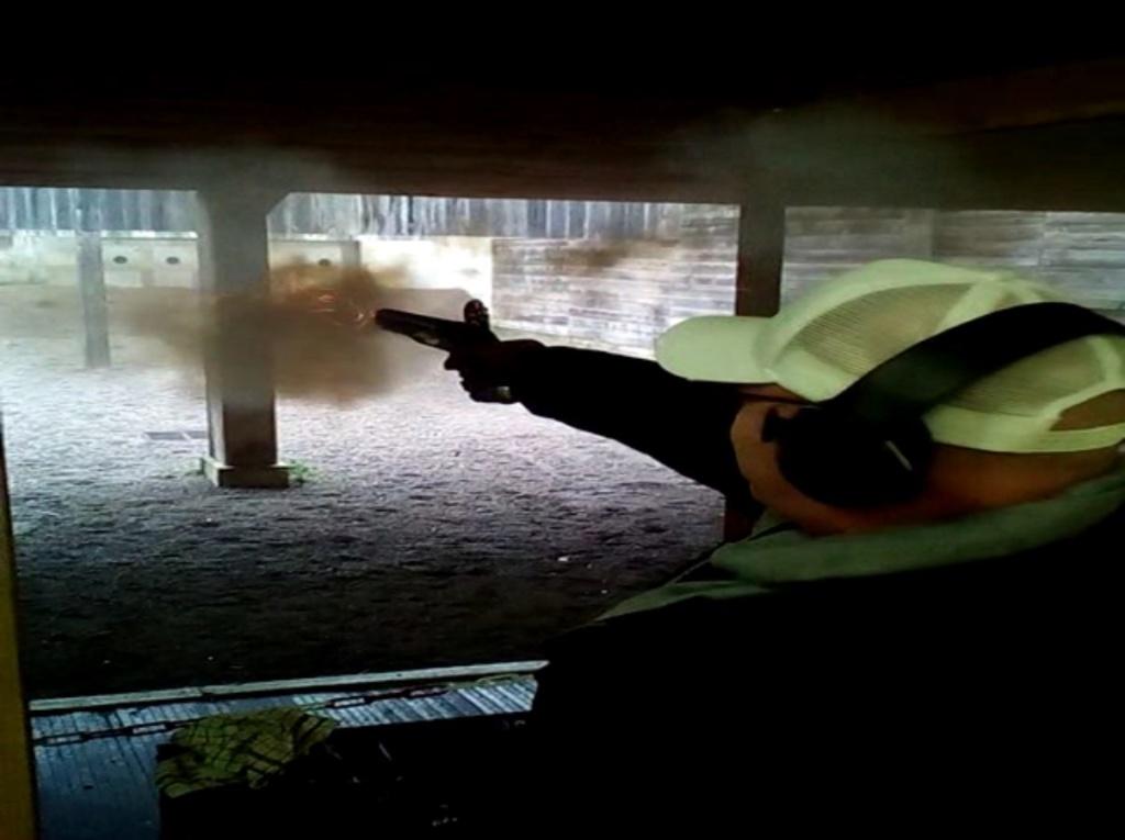 [SILEX] Essai de tir au pistolet Light Dragoons M1799 Ld611