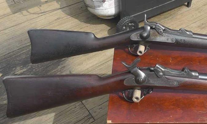 US Cavalry M1873 Trapdoor carbine Long_w11