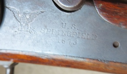 US Cavalry M1873 Trapdoor carbine Spring10