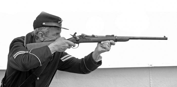 US Cavalry M1873 Trapdoor carbine Troope12