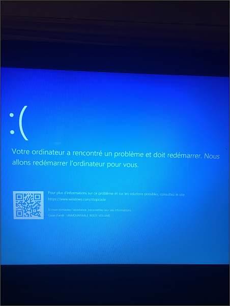 [Résolu]Plus d'ouverture de Windows10 30125310