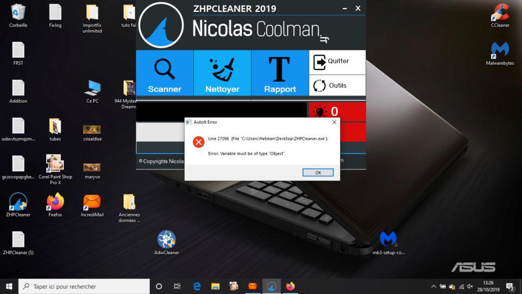 [Résolu]Plus d'ouverture de Windows10 - Page 3 Captur23