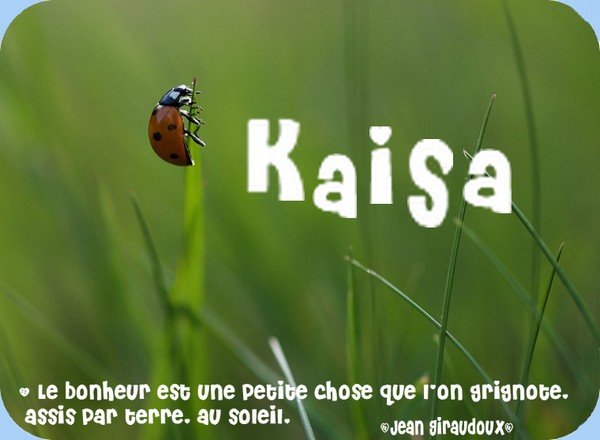 Kaïsa