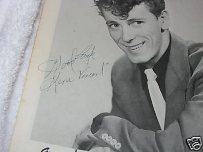 Gene Vincent and my dad were 1st cousins... Buf3cw10