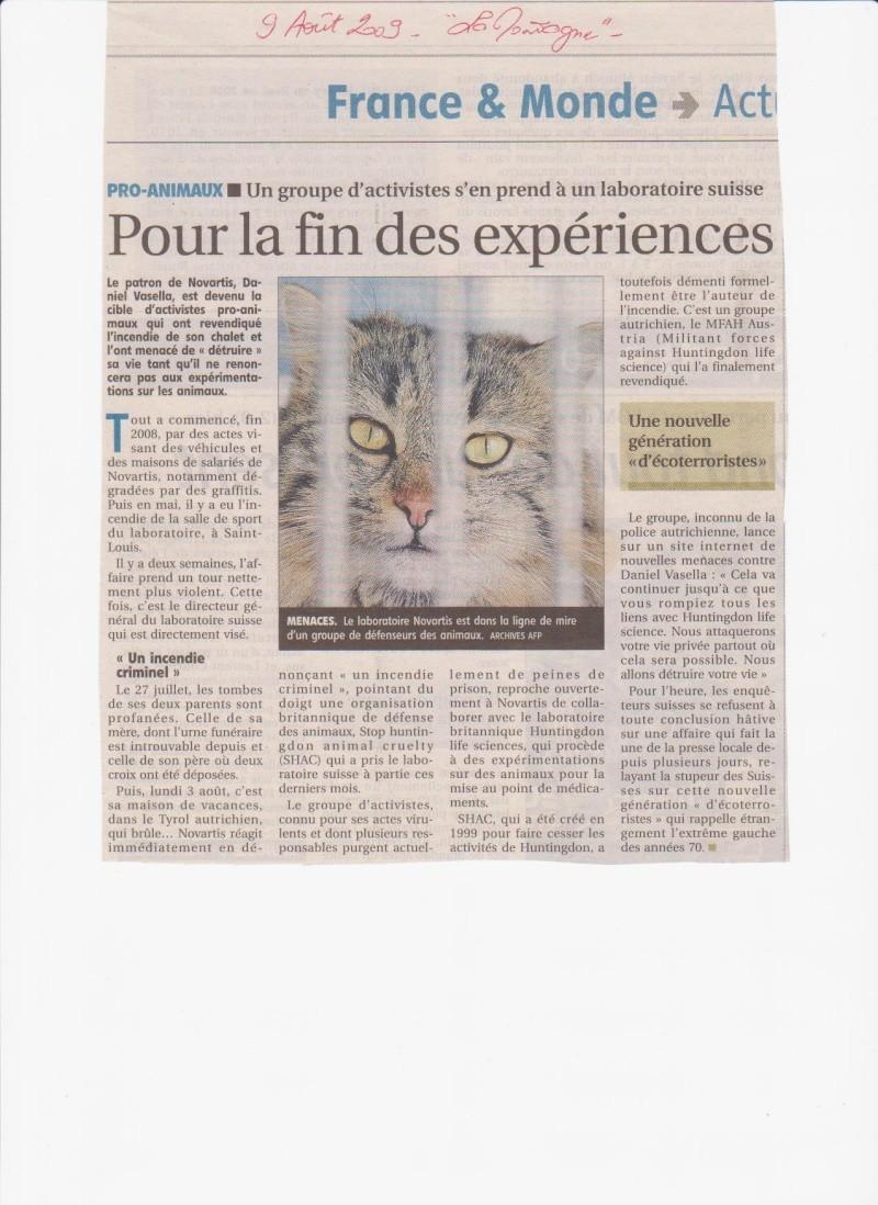 Info : expérimentation animale. NOVARTIS pris pour cible, en Suisse Novart10