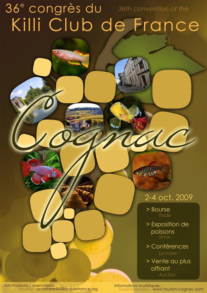 Congrès KCF (Killi club France) 2 au 4 oct 09 Cognac dep 16 Affich13