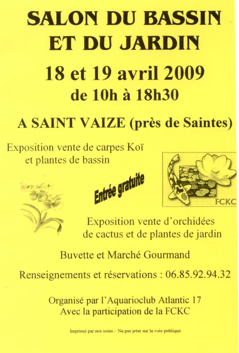 Salon du bassin et du jardin 18 et 19 avril 2009 St Vaize près de Saintes Salon_11
