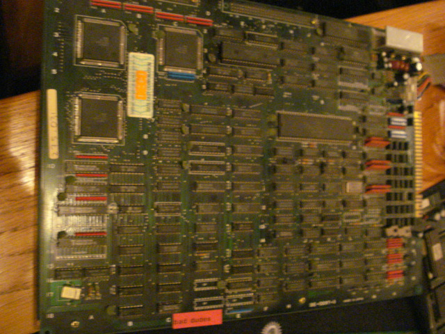[FS] Neo Geo motherboard 4 slot and jamma prints + MVS games Dsc02410