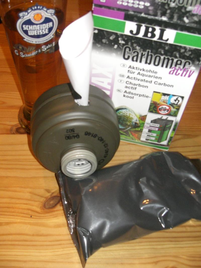 Reconditionnement d'un filtre de masque à gaz militaire Cimg6518