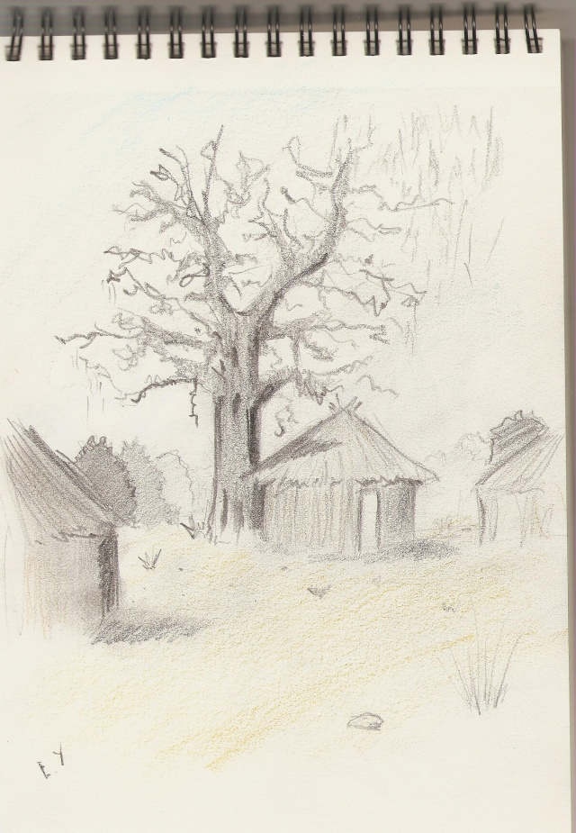 Croquis et Illustration El-yas Yurul_33