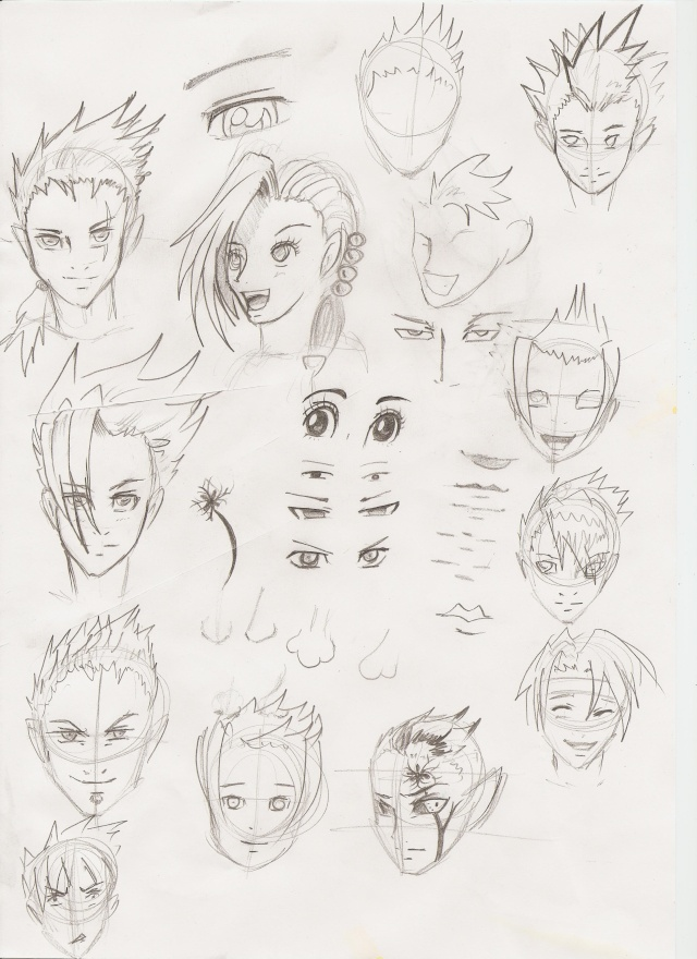 Croquis et Illustration El-yas Yurul_46