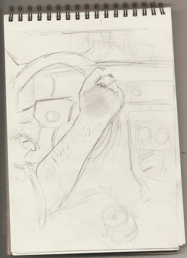 Croquis et Illustration El-yas Yurul_76