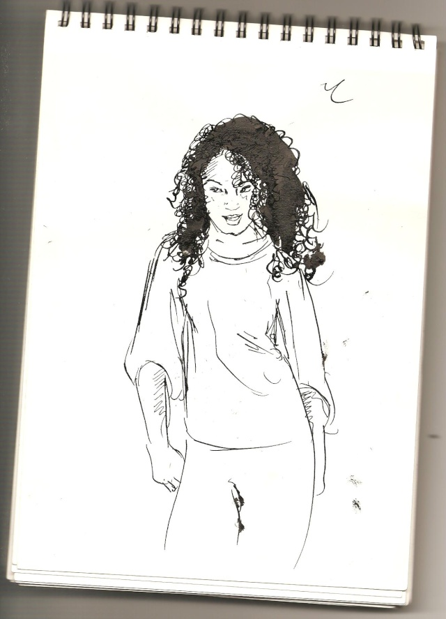 Croquis et Illustration El-yas Yurul_82