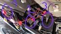 conseil pour installer une prise usb sur le 12v apres contact sur gsxs 750 Relais10