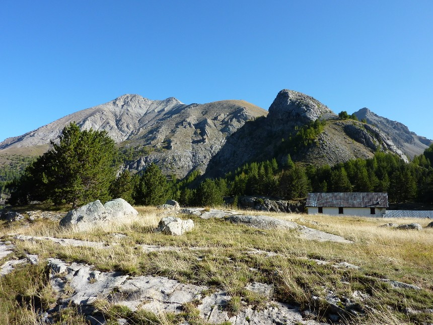 Lac d'Allos - Mont Pelat P1000010