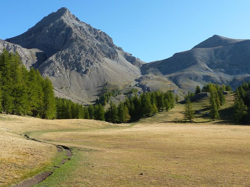 Lac d'Allos - Mont Pelat P1000013