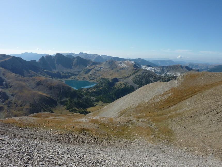 Lac d'Allos - Mont Pelat P1000015