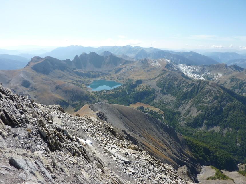 Lac d'Allos - Mont Pelat P1000019