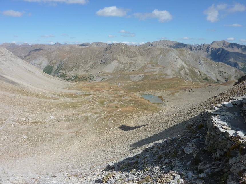 Lac d'Allos - Mont Pelat P1000022