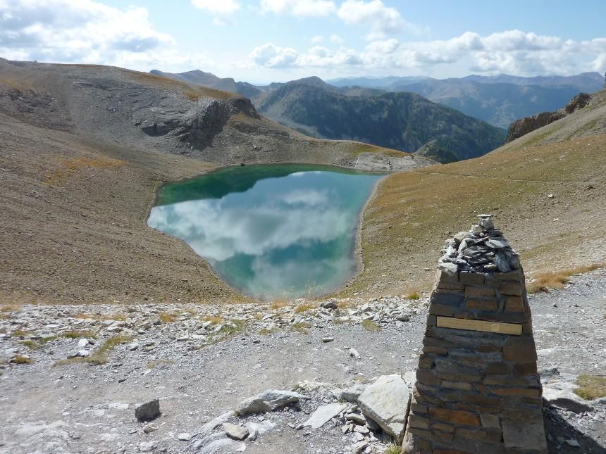 Lac d'Allos - Mont Pelat P1000023